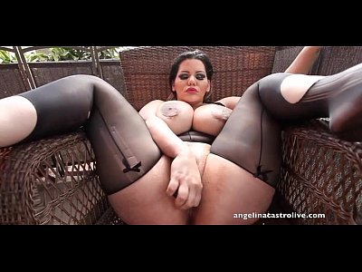 Analsex Bigass Bigtits video: Angelina Castro fucking her huge Round Ass