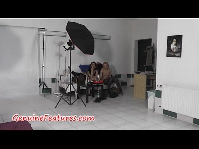 Czech Newbie Striptease video: Hot czech ladies in backstage clip