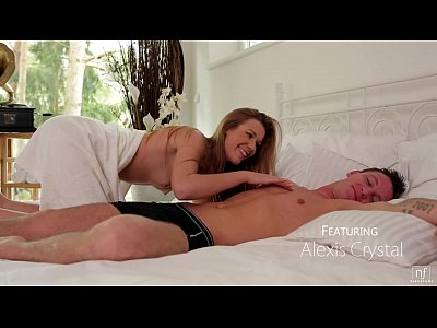 Blowjob Coed Cumshot video: Nubile Films - Wake up to blow and fuck