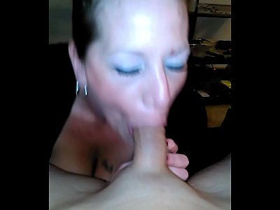 Busty Gorgeous Milf video: Amateur POV blowjob and tittyfuck