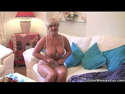 Milfs Grannies British video: Do British grannies really prefer solo sex?