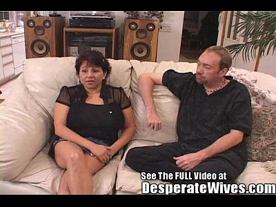 Big Tit Latina Shorty Wife Group Fuck