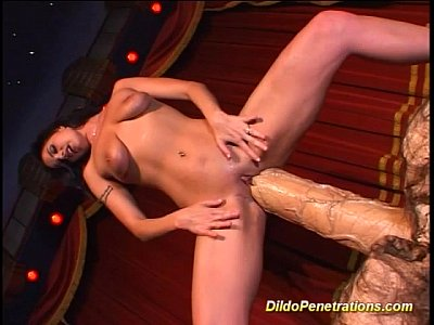 Balls Bizzare Dildo video: monster anal dildo dream