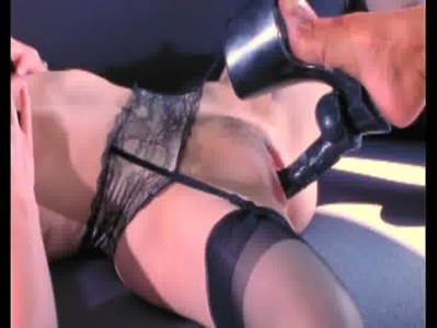 Dita dildo shoe sex