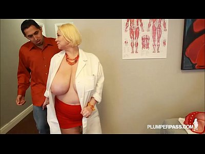 Boobs Threesome xxx: Busty Doctor Samantha 38G Fucks Sexy NIkky Wilder and Stud