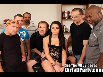 Teen Interracial Gangbang Videos