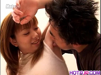 Asian Japanese Fingering video: Young Erika receives proper pounding