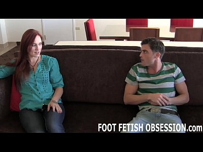 Toes Footfetish Socks video: Lay down so I can shove my toes down your throat