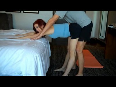 Milf Yoga movie: MOMS YOGA LESSON