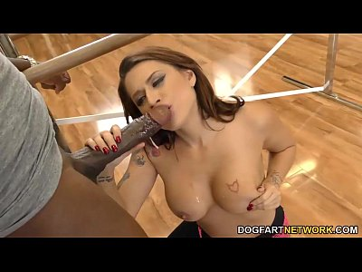 Bigcock Bigdicks Bigblackcock video: Busty Eva Angelina loves BBC