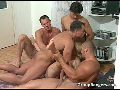 Blonde Orgy Groupsex video: What about this blonde hooker who