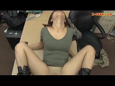 Slim rocker fucked by pervert pawn dude