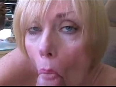 Cheating Cumshot Homesex video: Mature wife and son roleplay fuck and facial