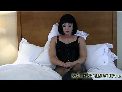 Femdom Fetish Domination video: Your cock is so tiny it&#039_s almost funny SPH