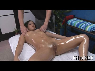 Teen Blowjob Oiled video: Sexy 18 year old playgirl