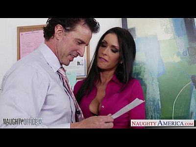 Stockings Lingerie Blowjob video: Stockinged office babe Jessica Jaymes fuck hard