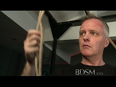 Bdsm Fetish Domination video: BDSM XXX Beautiful Slave girls are Shackled before pleasing their Masters