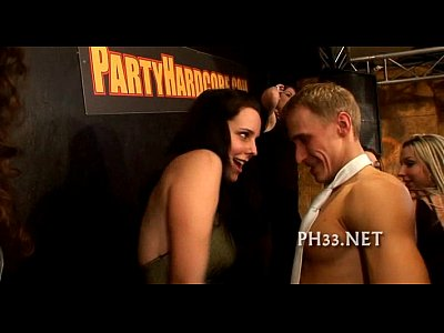Amateur Interracial movie: Bitches found tiny dick in club