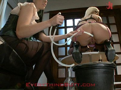 Cocktail waitressed trained on anal servicing