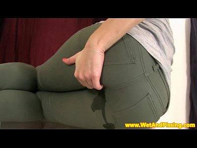wetting jeans