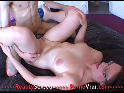 Mature french amateur cum on glasses