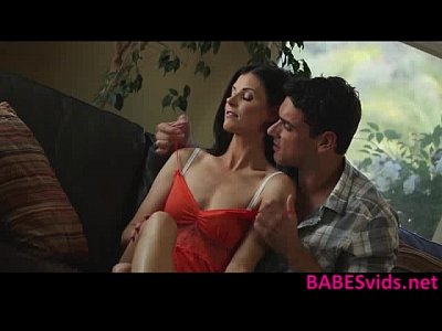 Babes Blowjob Brunette video: India Summer