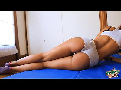 Ass Busty Cameltoe video: Busty Latina Brunette! Big & Round Ass! Cameltoe Working Out!