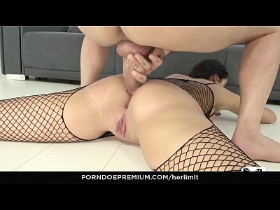 HER LIMIT - Wild hard anal for seductive Hungar...
