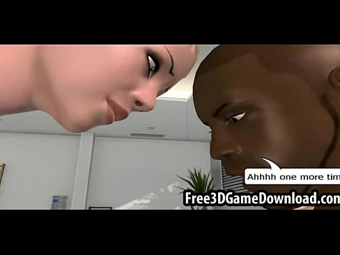 3d cartoon black dude with a huge dick gets sucked  [Hentai Anime 3D Porn HentaiPornTube.net]
