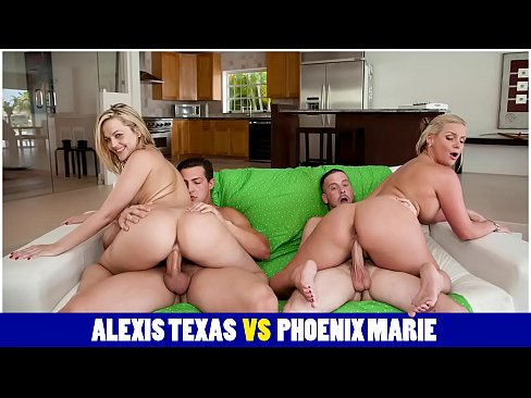 BANGBROS - The Big Ass Battle! Phoenix Marie Vs. Alexis Texas