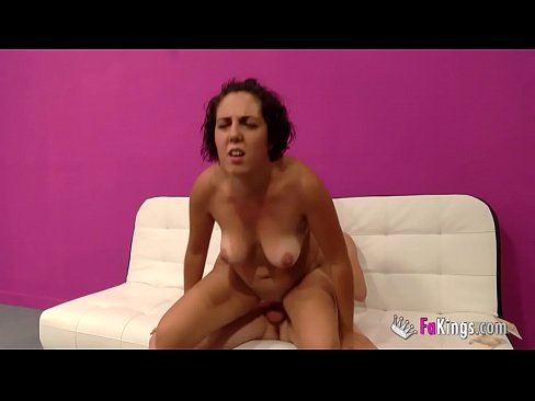 He doesn't like seeing her wife drilled and drilled again by a bigger cock