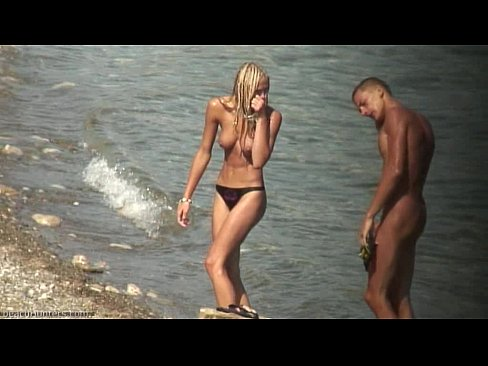 Topless Blonde Teen Beach Video Xvideos Com