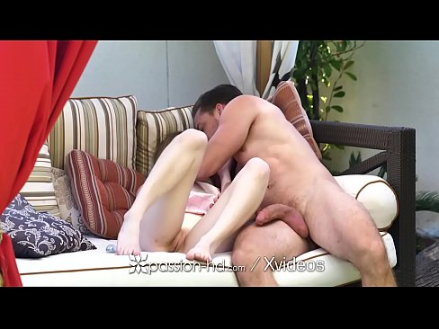 PASSION-HD Outdoor Exhibitionist tight pussy POUNDED