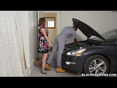 image Edyn blair sucks horny black mechanics to pay the bill