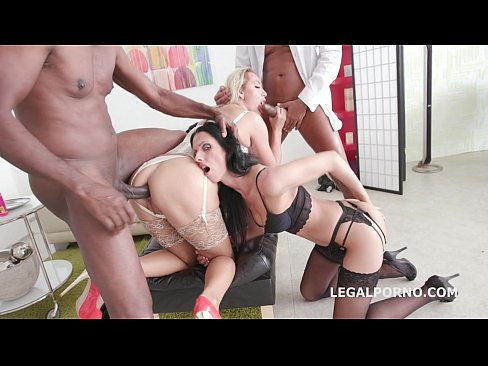 Lara's perversions 9 cocks 3 chicks