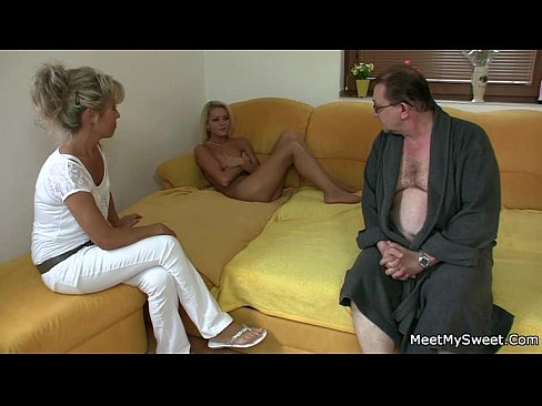 She rides her BF dad's cock