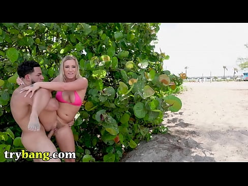TRYBANG.COM - Bailey Brooke Sucks And Fucks On The Beach With Peter Green