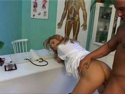 Horny nurse Katrina Angel gets fucked by the doctor
