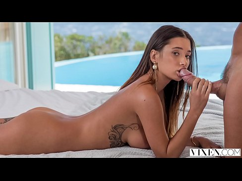 VIXEN Busty Beauty Liya Silver Can't Wait For Her Boyfriend Anymore