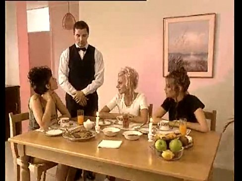 image Vintage dinner party orgy