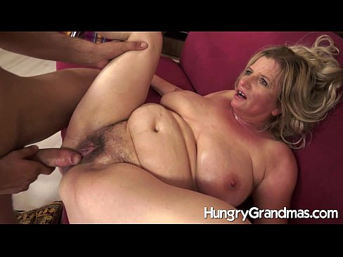 Saggy Tits Hairy Mature Loves Black Cock