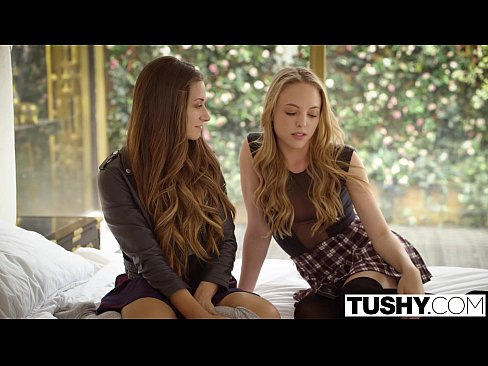 12 Min Babes Cassidy Klein And Aubrey Star Do Anal TUSHY Sex Hot Porns