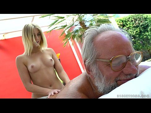 cover video Aria Logan And  Her Much Older Friend   Grandp Friend   Grandpas Fuck Teens