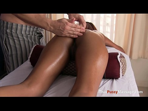 Little Asian Pussy Smothered in Oil
