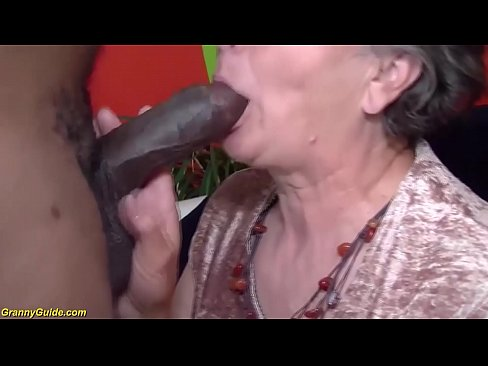 chubby 80 years old mom first interracial sex