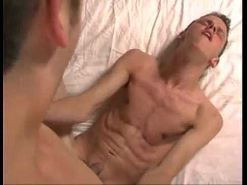 Fucking cute twink while sucking his toes