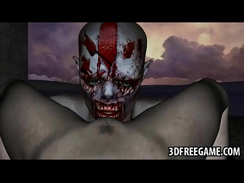 3d zombie babe licked and fucked 7