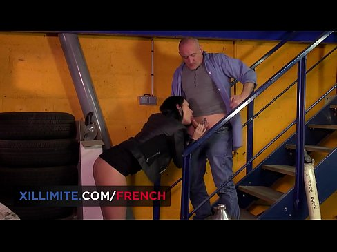 French teen Anna Siline gets fucked by old man