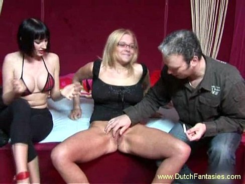 Dutch Mom Teaches Daughter How To Fuck