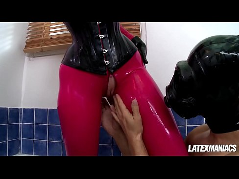 Latex fuck of the year with BDSM Goddess Latex Lucy